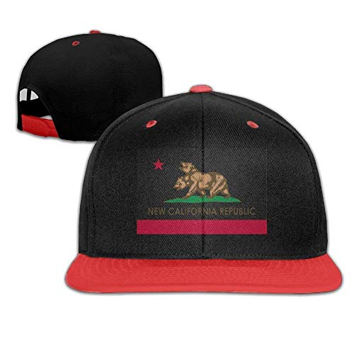 Xukmefat New California Republic Unisex Hat Mens Womens Baseball Hat Hip Hop...