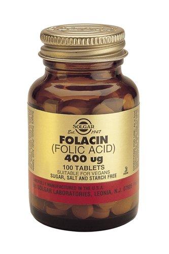 Folic Acid 400 mcg 100,00 Tablets -