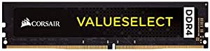 Corsair Value Select 8GB Intel 7th Gen and AMD Ryzen PC Memory (CMV8GX4M1A2400C16)
