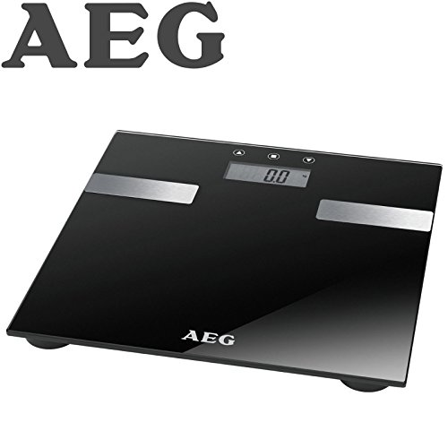 AEG PW Personenwaage 5644 FA Glas 7 in 1