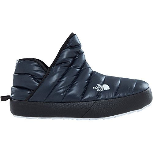 The North Face Slippers Thermoball Traction Bootie Slippers - Shiny Urban Navy/TNF White (Fleece-booties)