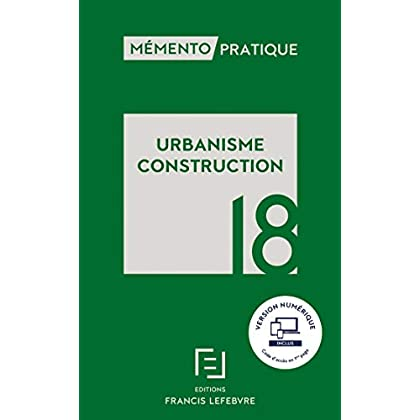 MEMENTO URBANISME CONSTRUCTION 2018
