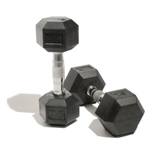 bodymax-rubber-hex-dumbells-mancuerna-de-10kg-color-plateado