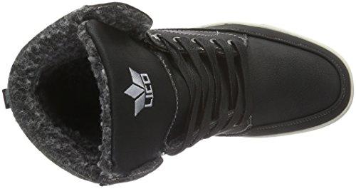 Lico Angelo, Sneakers Hautes Homme Noir (Schwarz)