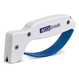 Accusharp Knife Sharpener Blue and White