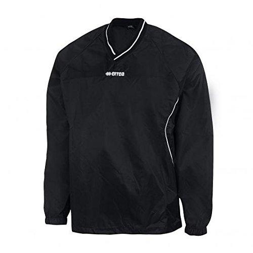 k way giacca antipioggia erreà senza zip (nero, m)