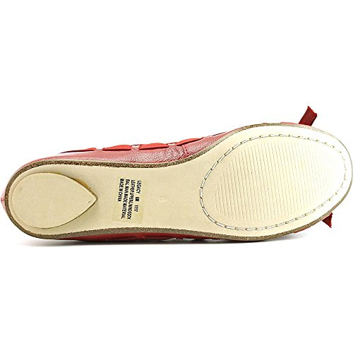 Chinese Laundry Legacy Femmes Cuir Chaussure Plate red