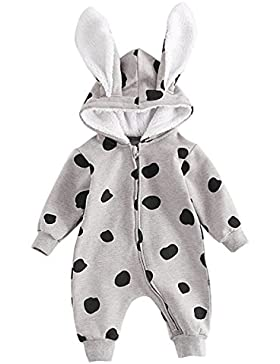 Bebone baby Strampler Mädchen Overall Winter Babykleidung