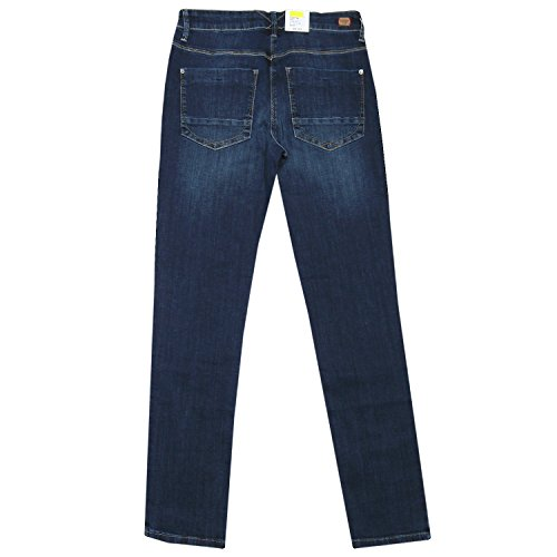 MAC Damen Straight Leg Jeanshose Carrie Pipe Blue Used