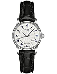 Mido Damen-Armbanduhr XS Baroncelli Analog Automatik Leder M76004214