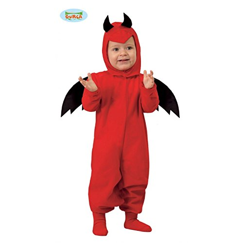 Baby Teufel - Kostüm für Kinder Gr. 86 - 98, Größe:92/98