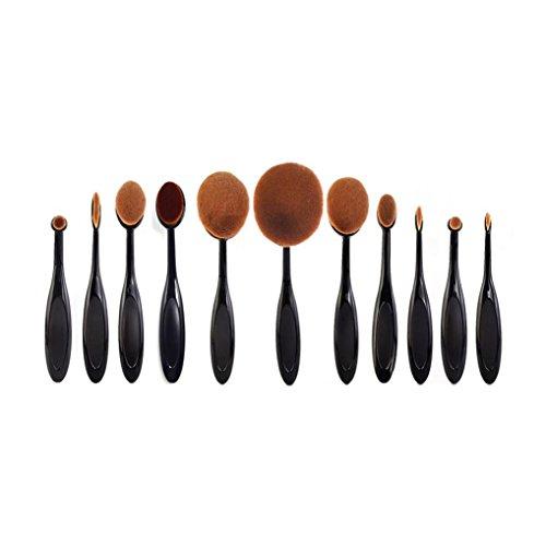 rosennie-10pcs-toothbrush-eyebrow-eyeliner-lip-oval-brushes-1pcs-hot-sale-brus-brush