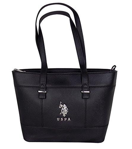 U.S.POLO ASSN. , Sac pour femme à porter à l'épaule Noir noir 28 X 23 X 11 CM.