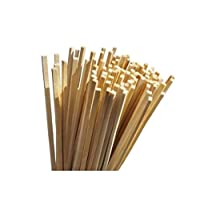 "TWB 100 sticks of traditional wooden candy - 11""- 28 cm"
