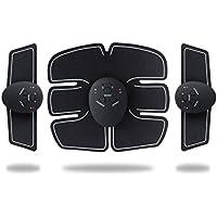 XDXDO Muscular Estimulador eléctrico Trainer, el EMS Abs Entrenador Abdominal, Músculos Recargables USB Entrenador para Brazos piernas Abdomen