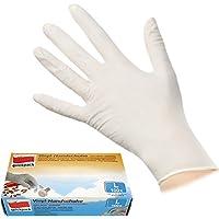 100 Einmal Vinyl Handschuhe extra dünn puderfrei Größe L Einweghandschuhe