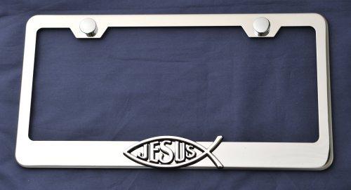 Jesus Fish Spiritual Love 3d Emblem Stainless...
