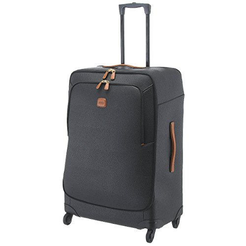 Bric's Magellano Spinner Valise 4 roulettes 82 cm black brown