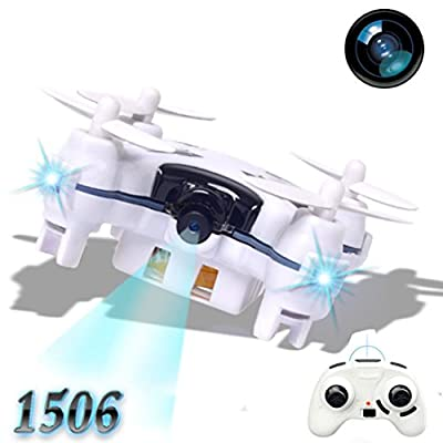 Oyedens 1506 2.4G 4CH 6-Axis Mini RC Quadcopter LED Light Small Drone Helicopter with 3.0MP Camera