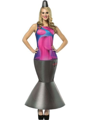 Adult Lava Lamp Costume (Women: One Size, Pink) by Rasta Imposta (Female Rasta Kostüm)