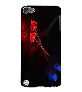 ColourCraft Lovely Arrows Design Back Case Cover for APPLE IPOD TOUCH 5