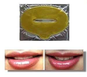 10 x patches dorés au collagène pour augmenter le volume des lèvres de Baviphat® - Patch Levres