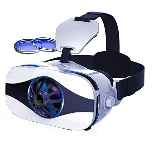 ILYO Virtual-Reality-Headset, vr-Headset 112 ° FOV Blu-ray-Augenschutz 4d One-Machine-Headset-Virtual-Reality-Brille