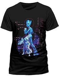 5216baf72 Avengers Infinity War Neon Teen Groot Rocket Official Marvel Black Mens T- Shirt