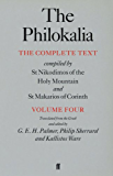 The Philokalia Vol 4: The Complete Text Compiled by St.Nikodimos of the Holy Mountain and St.Makarios of Corinth