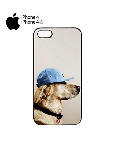 Hat Dog Funny Cool Soldier Baseball Mobile Phone Case Cover iPhone 6 Plus + White Noir