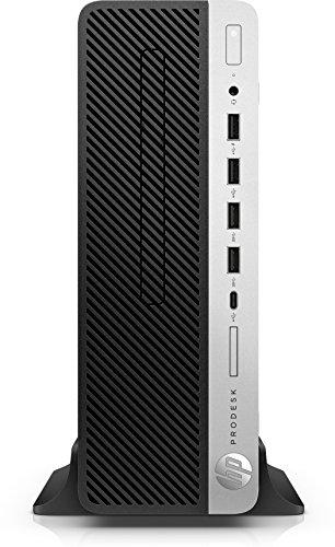 HP OfficeJet 600 G4 3 GHz i5-8500 SFF 8a Generation Intel® CoreTM i5 Schwarz, Silber PC - Desktop PC (3 GHz, 8a Generation Intel® CoreTM i5, 8 GB, 1000 GB, DVD Super Multi, Windows 10 Pro) (Desktop 600 Hp Pro)