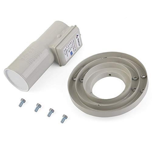 ST-900B Digitaler Single-C-Band-Ausgang Single-LNBF-Hochleistungs-Universal-Ku-Band-Single-HD-Ausgang LNBF - Grau