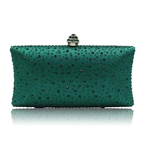 TOYIS handle Bag - Cartera de mano para mujer Verde verde talla única
