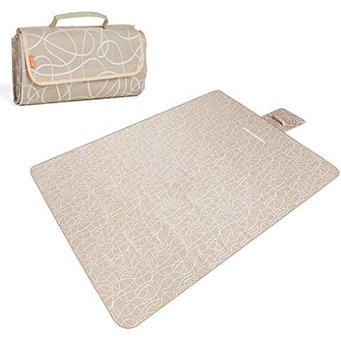 Oxford pad stoffa picnic ALL'APERTO tappetino umidita