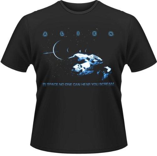 Plastichead - Falling In Reverse Lips, T-shirt da uomo,  manica corta nero(Schwarz (Black))