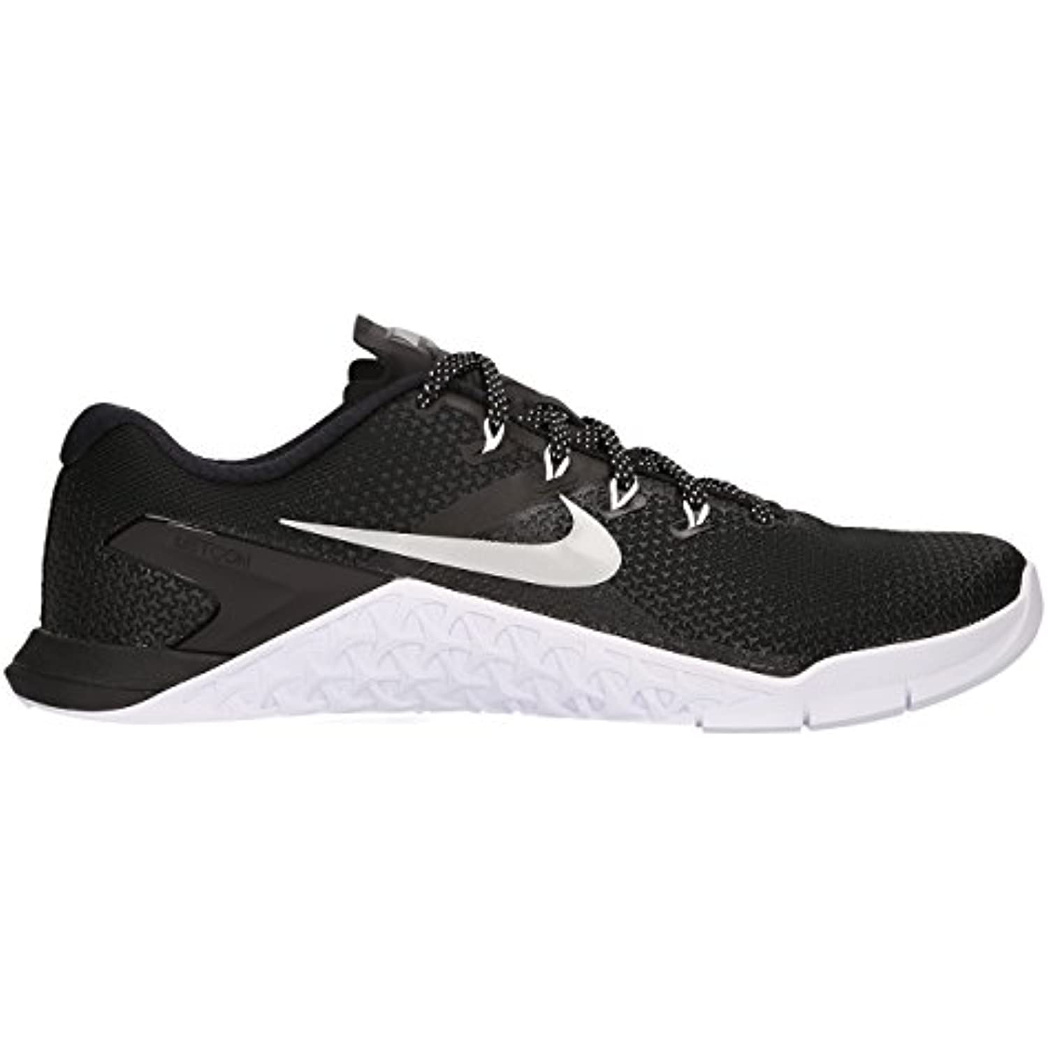 NIKE WoHommes Running 's Metcon 4 Training Shoe, Chaussures de Running WoHommes Compétition Femme, Multicolore (Black/Metallic Silver... - B072FNML5V - 6b9faf
