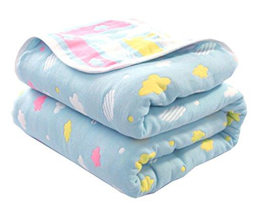 Weiche Baumwoll-Gaze-Baby-Tuch-Decke Kleinkind-Decken bedeckte Decke 35.43