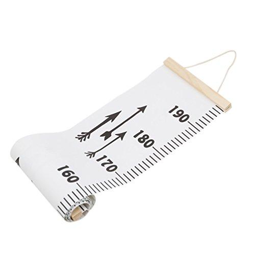 Albeey Height Chart WandaufhängerKids Wachstum Diagramm Wandtattoo Messen Wandaufhänger für Kinderzimmer Dekoration (2#)