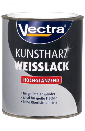 Kunstharz-Weißlack  <strong>Materialbasis</strong>   Alkydharz
