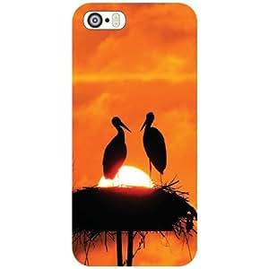 Apple iPhone 5S Back Cover - Splash Of Water Designer Cases