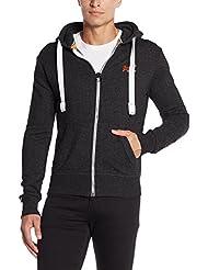 Superdry Herren Sweatshirt Orange Label Ziphood
