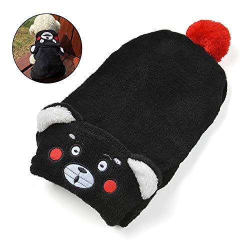 (joizo 1pc Welpen-Hundekleidung Haustier-Winter-warme VliesHoodie Kostüme Maskottchen-Mantel-Kleid-Klage (l))