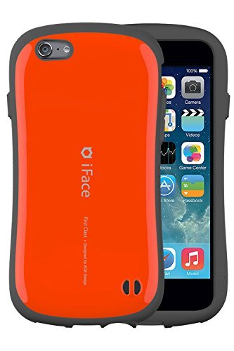 iFace Apple iPhone 6 / iPhone 6s Case First Class Collection - Premium Slim Fit Dual Layer Protective Hard Case - Verizon, AT&T, T-Mobile, Sprint, International, and Unlocked - Apple New iPhone 6 / iPhone 6s Case (Orange)