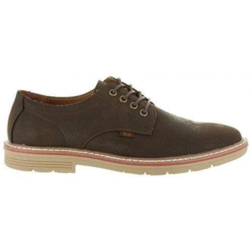 XTI Zapatos de Hombre 47081 R1 C MARRON Talla 40
