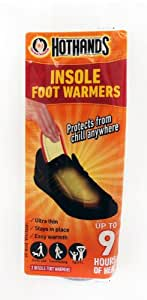 Hot Hands Instant Insole Foot Warmers. 4 Pairs