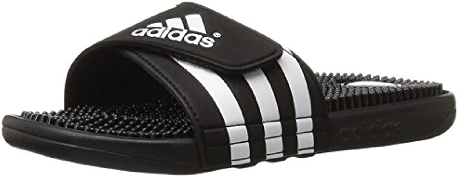 adidas hommes est adissage royaume sandale, noir, blanc, 17 d (m) royaume adissage - uni 959d26