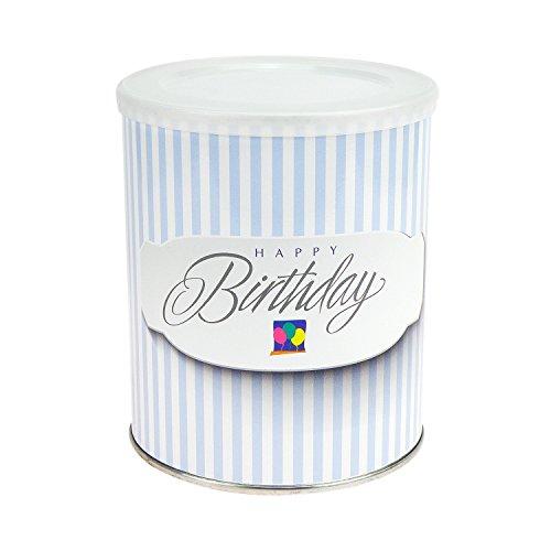 ExtraPapeterie Geschenkdose Happy Birthday Ballons zum Selbstbefüllen, mit Klarsichtbox - YES - YOU - CAN!