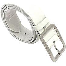 SMARTLADY Cinturón de Piel Sintética Hombres Niños Cinturón Casual Hebilla Pretina