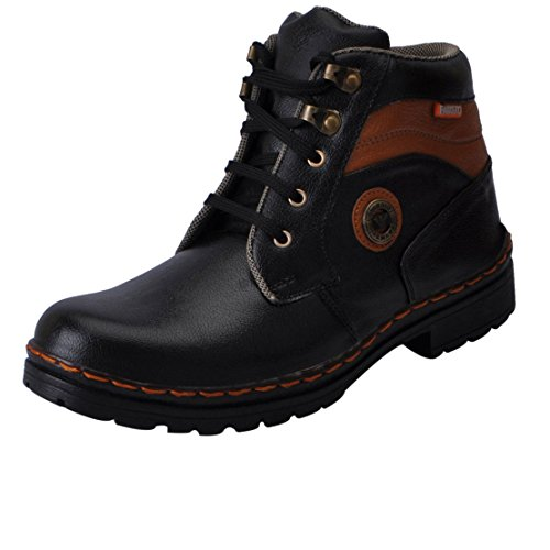 Fausto 3108-40 Black Men's Boots