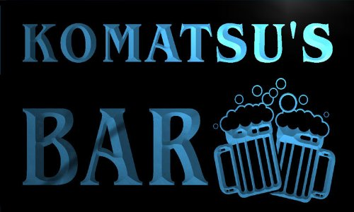 w037705-b-komatsu-name-home-bar-pub-beer-mugs-cheers-neon-light-sign-barlicht-neonlicht-lichtwerbung